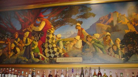 pied-piper at the Pied Piper Bar, Palace Hotel 1909- San Franciso